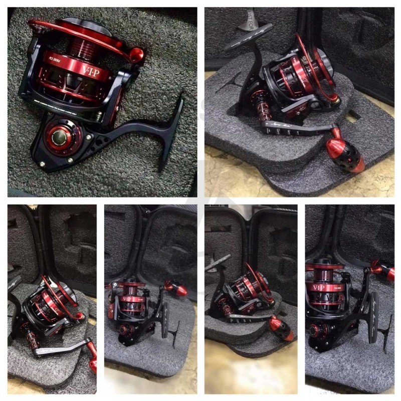 Jigging Master VIP-5000XH/7000S #Black-Red*Limited Edition