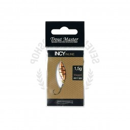 SPRO Trout Master Incy Inline Spoon 1.5g #Maggot