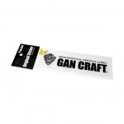 Gan Craft Original Transfer Sticker Size M #01-Black