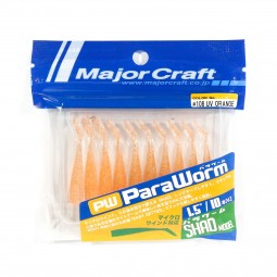 "Major Craft ParaWorm 1.5"" Shad Model #108"