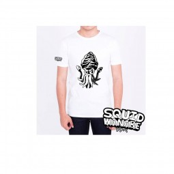 Squid Wanabe SQW SHIRT*WH Size M