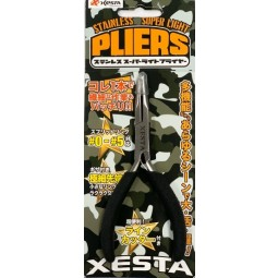 Xesta Stainless Super Light Pliers #Black
