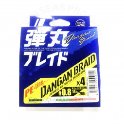 Major Craft DANGAN BRAID X4 Multi-200m PE0.8