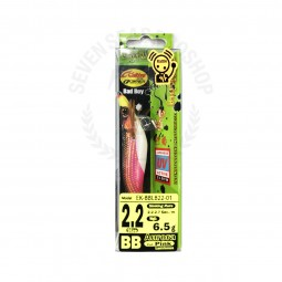 Pro-Hunter EGI Bad boy Aurora 2.2 Pink*มีเสียง