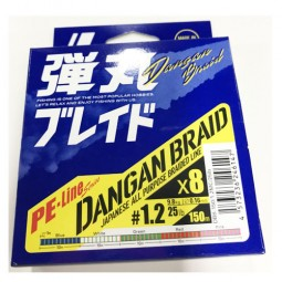 Major Craft DANGAN BRAID X8 150m-Multi PE1.2