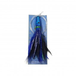 "Moo Lures Feather Lures 6"" #Blue"