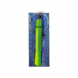 Moo Lures Hair Skirt Lures S #Lime-Green