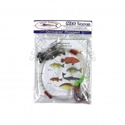 Moo Lure Grouper Rigged Hook size 18