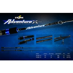 Storm Adventure Xtreme SW Jigging #AXS601-2.5 (Spinning)