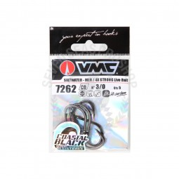 VMC 4X Strong Live Bait 7262-CB #3/0