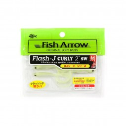 "Fish Arrow Flash-J Curly 2"" SW #L134"