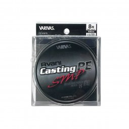 Varivas Avani Casting SMP PE-8-400m (Stealth gray-with marking lines)