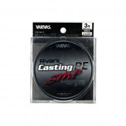 Varivas Avani Casting SMP PE-3-500m (Stealth gray-with marking lines)