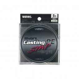 Varivas Avani Casting SMP PE-5-500m (Stealth gray-with marking lines)
