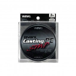 Varivas Avani Casting SMP PE-8-500m (Stealth gray-with marking lines)