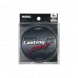 Varivas Avani Casting SMP PE-4-600m (Stealth gray-with marking lines)