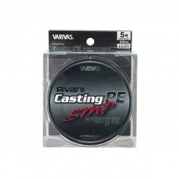 Varivas Avani Casting SMP PE-5-600m (Stealth gray-with marking lines)