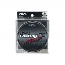 Varivas Avani Casting SMP PE-10-600m (Stealth gray-with marking lines)