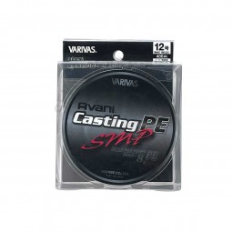 Varivas Avani Casting SMP PE-12-400m (Stealth gray-with marking lines)