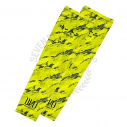 Duo Arm Guard #Chartreuse Geo