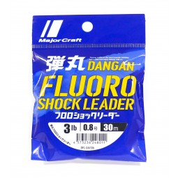 Major Craft Dangan Fluoro Shock Leader #3lb