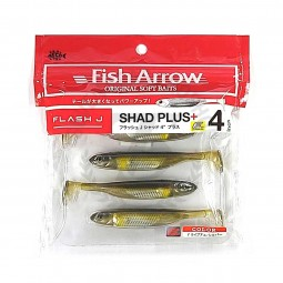 "Fish Arrow Flash-J Shad Plus+ 4"" #F22"