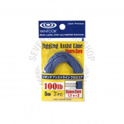 Vanfook Jigging Assist Line Fluoro Core J-FC #100lb-5m