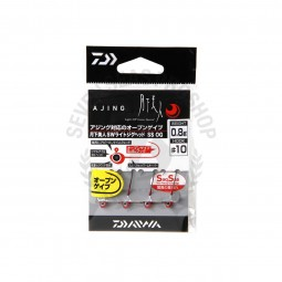 Daiwa Moonlight beauty SW light jig head SS OG #10 (0.8g.)