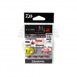 Daiwa Moonlight beauty SW light jig head SS OG #8 (0.8g.)