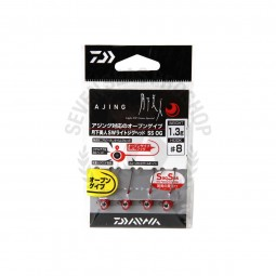 Daiwa Moonlight beauty SW light jig head SS OG #8 (1.3g.)
