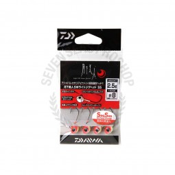 Daiwa Moonlight beauty SW light jig head SS #8 (2.5g.)