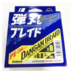 Major Craft DANGAN BRAID X8 150m-Multi PE0.8