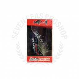Fish Art Fat Boy Floating 38 #SVP-Silver Perch