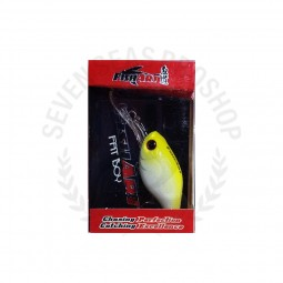 Fish Art Fat Boy Floating 38 #YP-Yellow Pearl