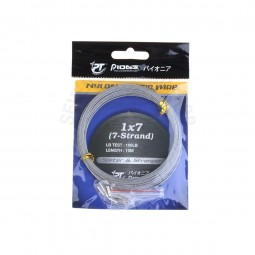 Pioneer 1x7(7-Strand) N/COATED WIRE *W #100lb-W *0389