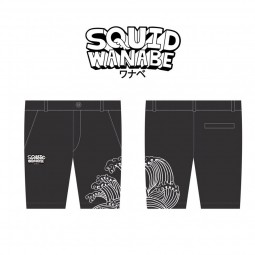 Squid Wanabe SQW KINUNO SHORTS*กางเกงสั้น M