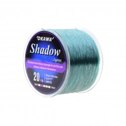 Okawa Shadow 1/4 #20lb 900yd *Clear Green