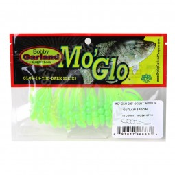 """Bobby Garland 2.5"""" Scent Wiggl'R Mo'Glo #MGSW187-18 Outlaw Special"""