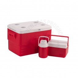 Coleman Combo Cooler 36QT #RED