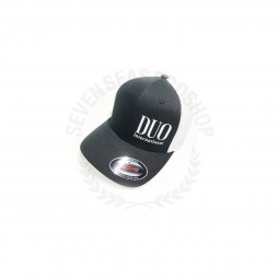 Duo Flexfit Cap*18 Bk/White