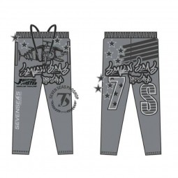 7S*กางเกง Pants Gray Micro*19 size 2XL