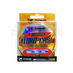 Pioneer FLURO-CAST 100% 12lb-0.30mm-150m