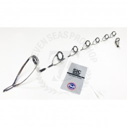 Fuji Guide SET Bait สีเงิน P+LC+KWSG+Top MN*Sic Stainless P