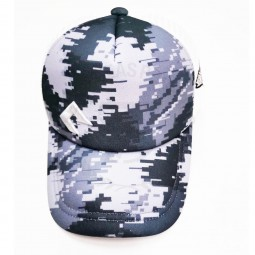 GONE FISHING CAPS CAMO WH ตาข่าย