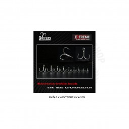 Tonnam Extreme Treble Hook Extra 3.5X *20pcs #6