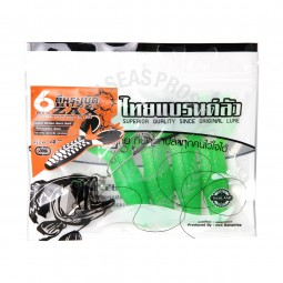"Thai Brand Lure Six Zax Buzz 4"" #Green"