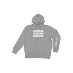Gan Craft Jumble Logo Parker #Mix Gray-XL*2019