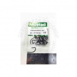 Mustad O Shaughnessy 9174NP-BN*25pcs size 1/0