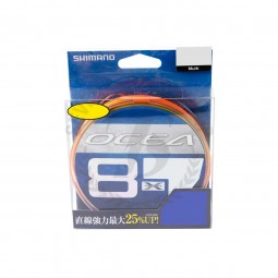 Shimano Ocea 8 400m #PE2 (Multi Color)