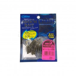 "Owner Tasty Worm Rock'N Bait Ring Single Tail 1.5"" #RB-3-16"